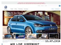 Ranking Webseite volkswagen-zubehoer.de