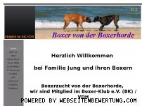 Ranking Webseite von-der-boxerhorde.de