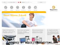 Ranking Webseite wagner-solar.com