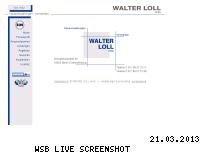 Ranking Webseite walter-loll.de