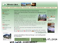 Informationen zur Webseite wander-gast.de