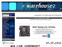 Ranking Webseite warehouse2.de
