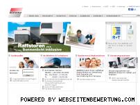 Ranking Webseite warema.de