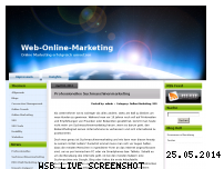 Ranking Webseite web-online-marketing.de