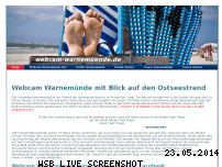 Informationen zur Webseite webcam-warnemuende.de