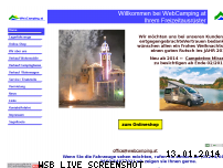 Informationen zur Webseite webcamping.at