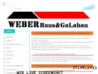 Informationen zur Webseite weber-massivbau-hamburg.net