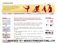 Ranking Webseite webmannschaft.de