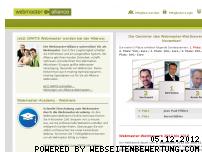 Ranking Webseite webmaster-alliance.com