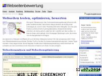 Informationen zur Webseite webseitenbewertung.com