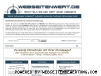 Ranking Webseite webseitenwert.de