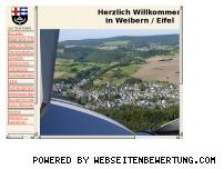 Ranking Webseite weibern.de