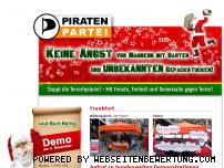 Informationen zur Webseite weihnachtstattangst.de