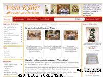 Ranking Webseite wein-kaeller.de