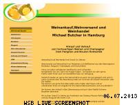 Informationen zur Webseite weinankauf-weinversand.de