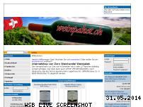 Ranking Webseite weinpaket.ch