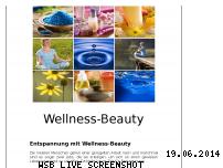 Informationen zur Webseite wellness-beauty.biz