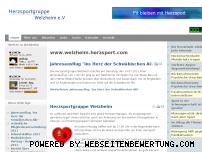 Ranking Webseite welzheim.herzsport.com