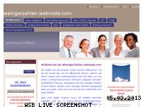 Ranking Webseite wenigerzahlen.webnode.com