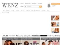 Informationen zur Webseite wenz.de