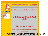 Ranking Webseite werbegemeinschaft-schlangen.de