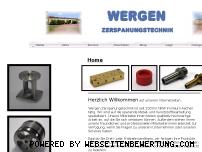 Informationen zur Webseite wergen.de