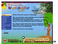 Ranking Webseite werrahuepferimpark.de