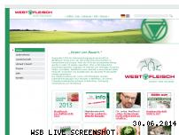 Ranking Webseite westfleisch.de