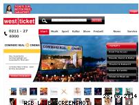 Informationen zur Webseite westticket.de