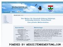 Ranking Webseite wetter24558.de