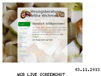 Ranking Webseite wichmann-ernaehrung.de