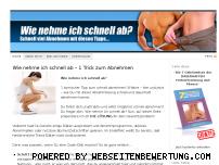 Ranking Webseite wie-nehme-ich-schnell-ab.org