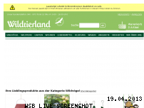 Ranking Webseite wildtierland.de