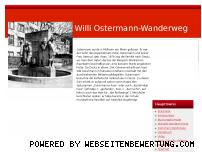 Informationen zur Webseite willi-ostermann-wanderweg.de
