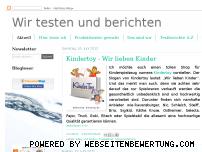 Informationen zur Webseite wir-testen-und-berichten.de