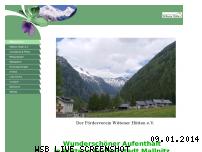 Ranking Webseite wittener-huetten.de