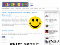 Informationen zur Webseite witze-blogger.de