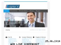 Ranking Webseite wo-capital.de