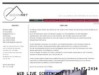 Ranking Webseite wohnart-sachsen.de