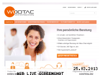 Ranking Webseite wootac.com