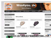 Ranking Webseite wos4you.de