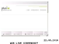 Ranking Webseite wplusw-werbeagentur.de