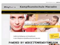 Ranking Webseite wt-marzahn.de