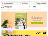 Ranking Webseite wunderkarten.de