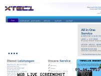 Ranking Webseite xtec1.de