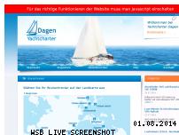 Ranking Webseite yachtcharter-dagen.de