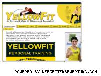 Ranking Webseite yellowfit.com