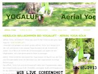 Ranking Webseite yogaluft.de