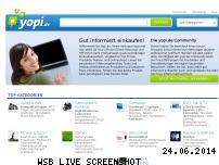 Informationen zur Webseite yopi.de