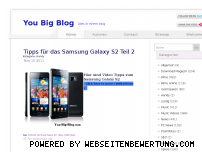Informationen zur Webseite you-big-blog.com